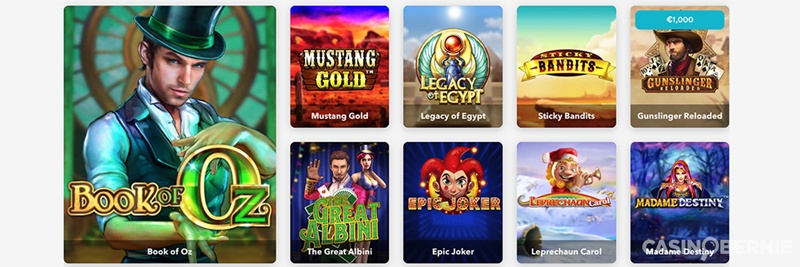 Lucky Days casino review - Casinobernie