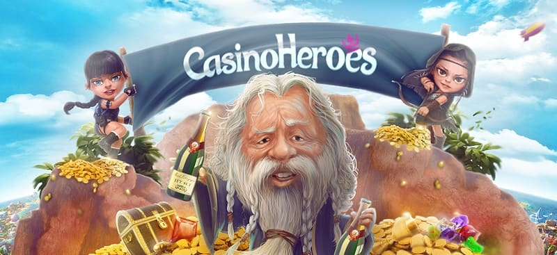 Casino Heroes Recension - Casinobernie